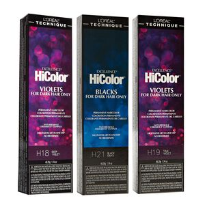 HiColor Violet & Black Shades Permanent Hair Color