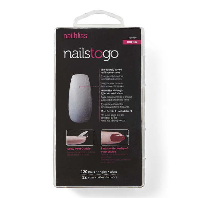 Nails To Go Coffin