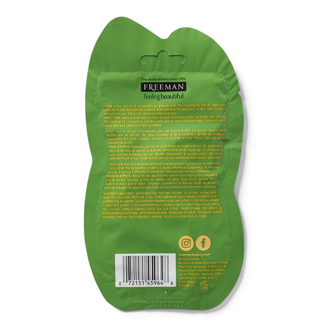 Green Tea & Orange Blossom Peel-Off Mask