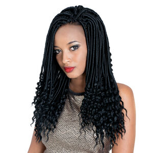Short Goddess Faux Locs 14 Inch Crochet Hair