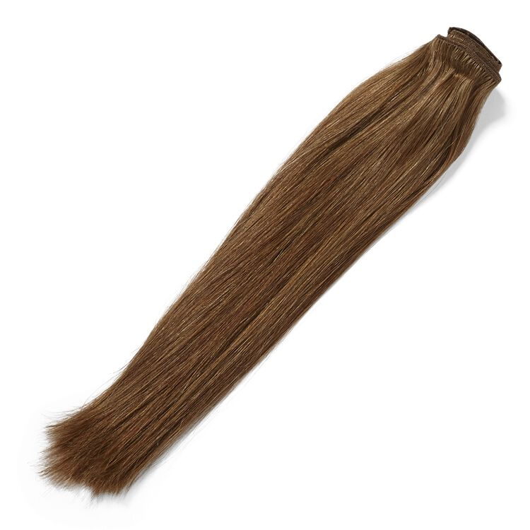 Clip In Chestnut Brown 14 Inch Human Hair Extensions