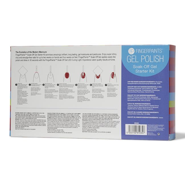 Soak-Off Gel Polish Starter Kit