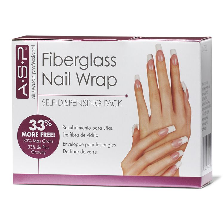 Fiberglass Nail Wrap