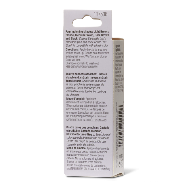 Dark Brown Temporary Color Touch Up Stick
