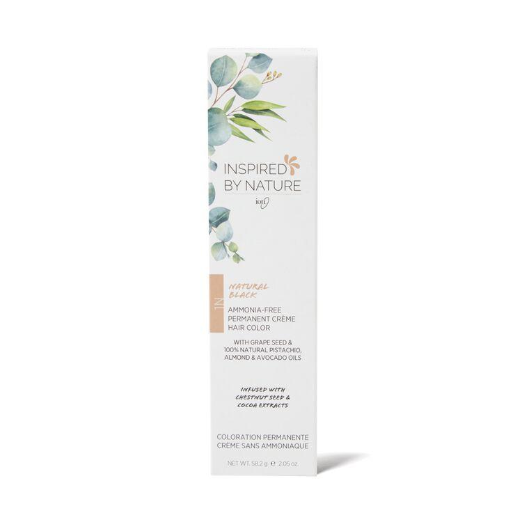 Ammonia-Free Permanent Hair Color Natural Black 1N