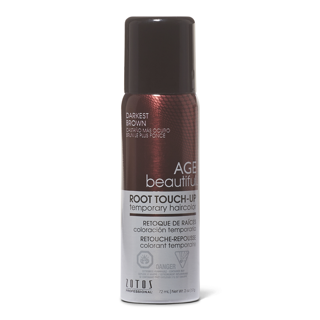 Darkest Brown Root Touch Up Spray Temporary Hair Color
