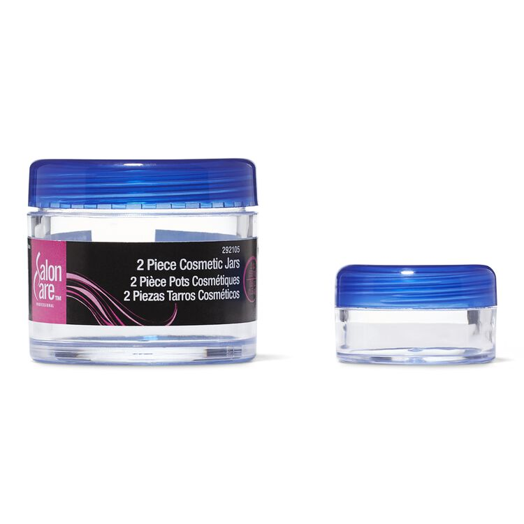 Clear Cosmetic Jars