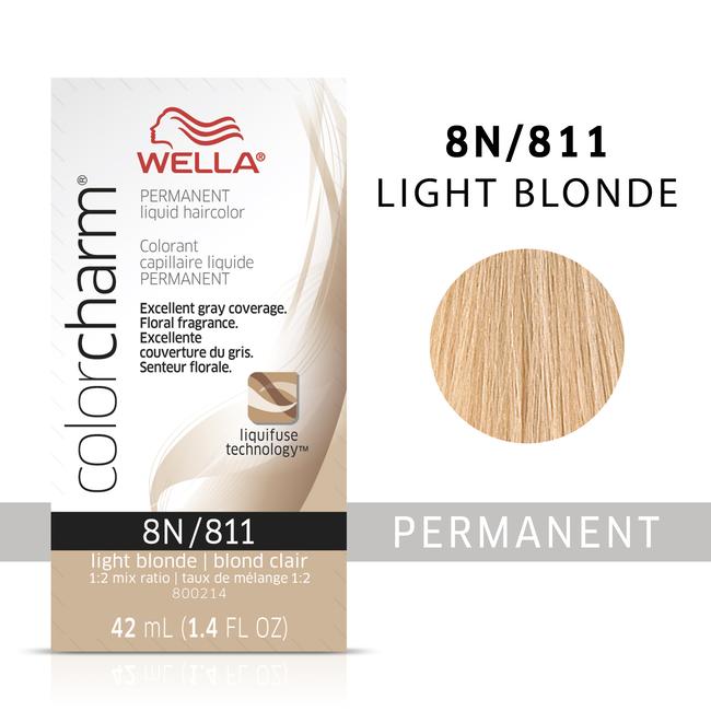 Light Blonde Color Charm Liquid Permanent Hair Color