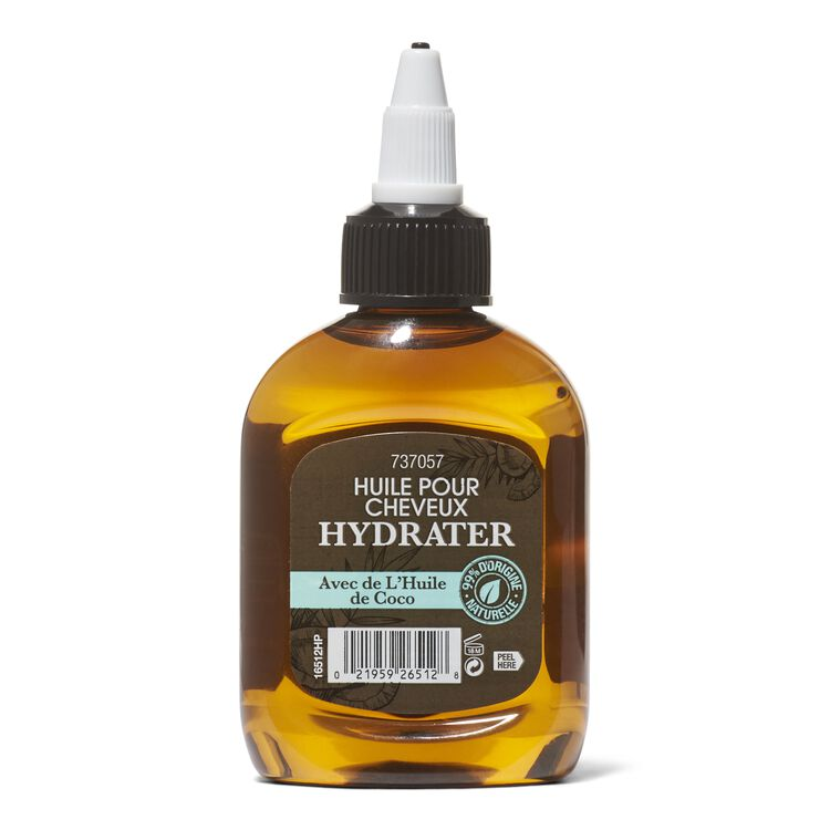 Hydrate Hair Oil with Coconut Oil