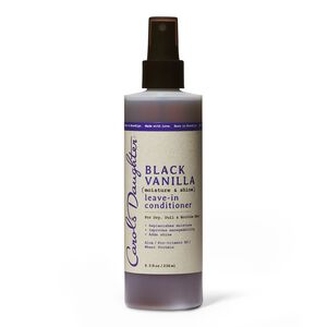 Black Vanilla Leave In Conditioner
