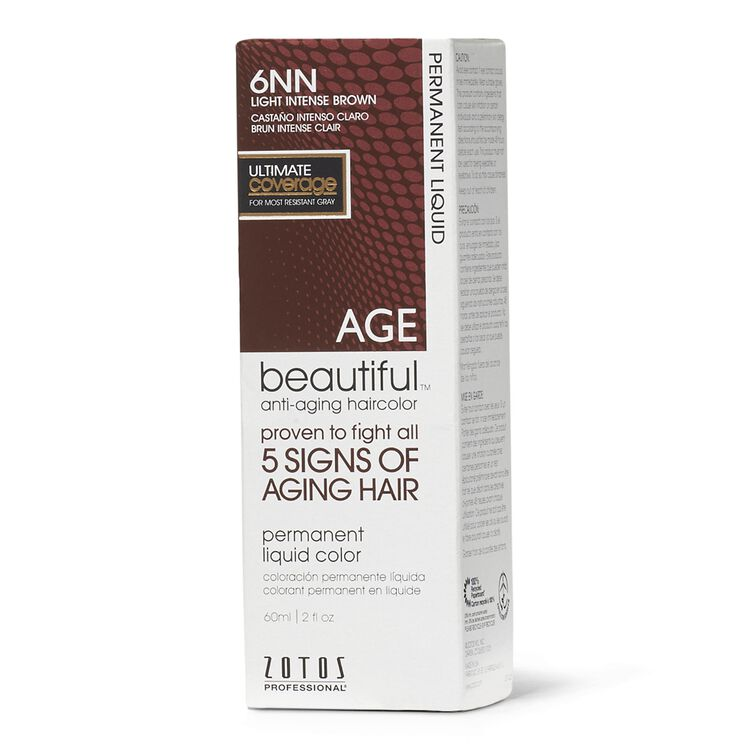 6NN Light Intense Brown Permanent Liquid Hair Color