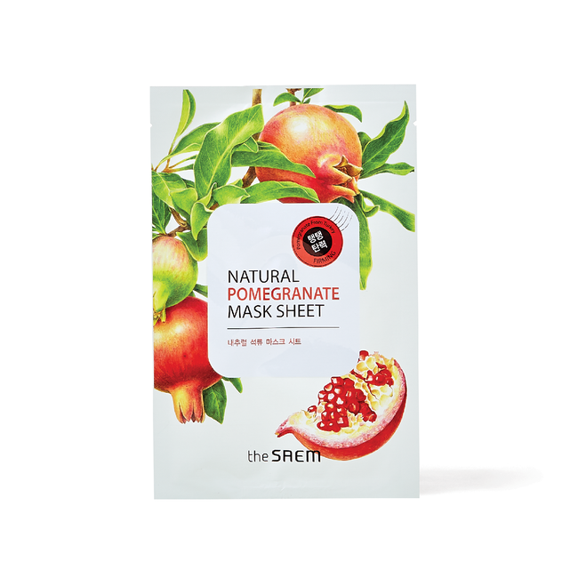 Natural Pomegranate Sheet Mask