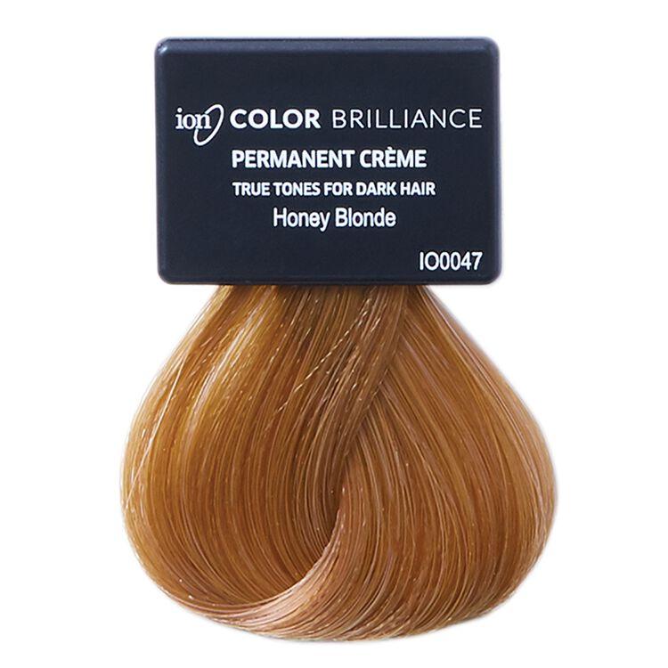 True Tones for Dark Hair Permanent Crème Hair Color Honey Blonde