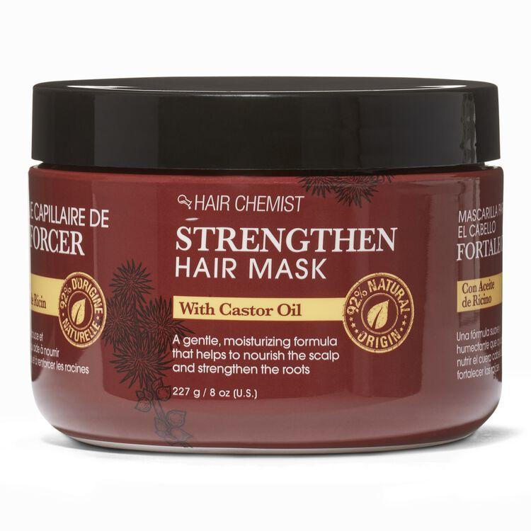 Strengthen Hair Mask with Castor Oil