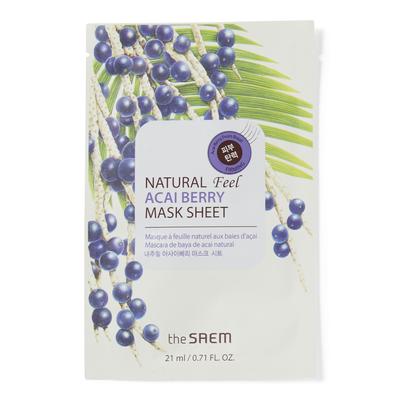 Natural Acai Berry Sheet Mask