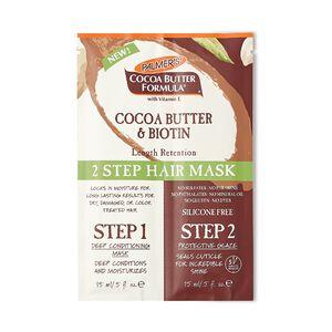 Cocoa Butter & Biotin Length Retention 2 Step Hair Mask