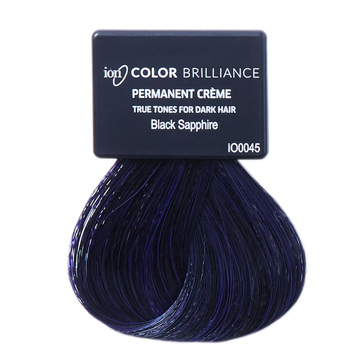 True Tones for Dark Hair Permanent Crème Hair Color Blue Black