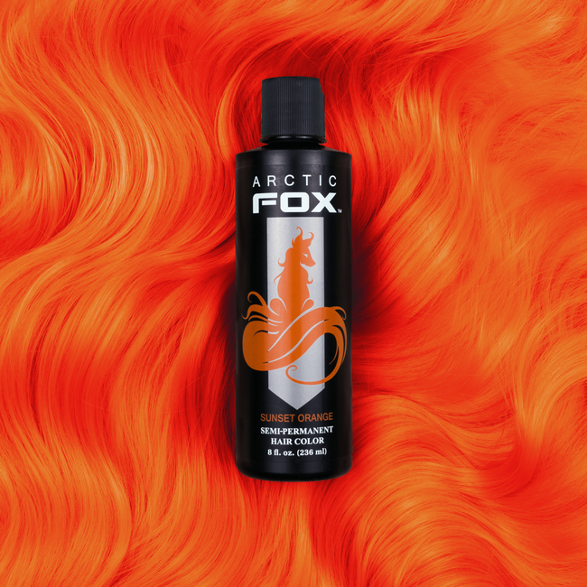 Sunset Orange Semi Permanent Hair Color 8 oz.