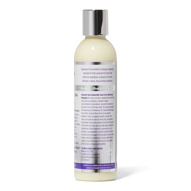 Heavenly Halo Herbal Hair Tonic & Soy Milk Deep Hydration Conditioner