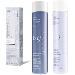 Buy 2 Ion Permanent Creme Hair Colors and Get 30% off Ion Hair Care
