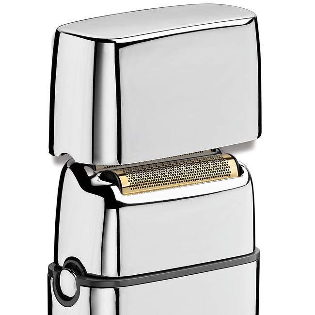 Silver Metals Cordless Metal Double Foil Shaver