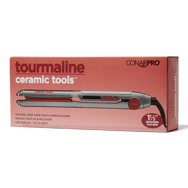 Tourmaline Series 1 1/2 Inch Flat Iron