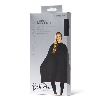 Black Whisper Styling Cape