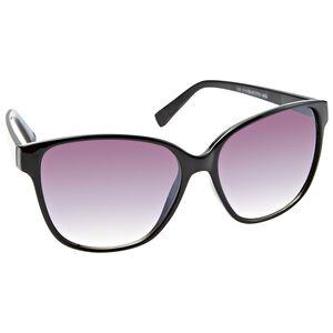 Black Opaque Fashion Sunglasses