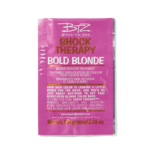 Bold Blonde Treatment Packette