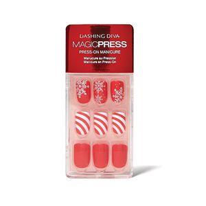 Candy Cane Wonderland Press On Nail Kit