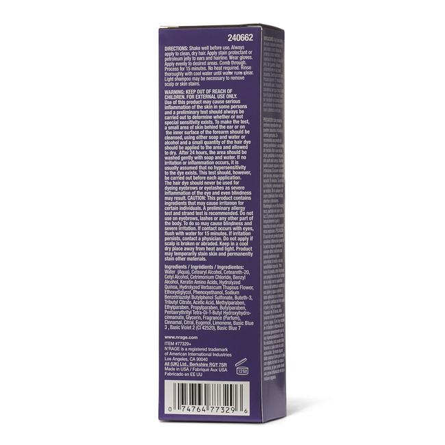 Demi Permanent Purple Plum Hair Color