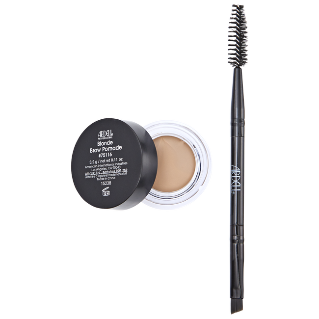 Blonde Brow Pomade with Brush
