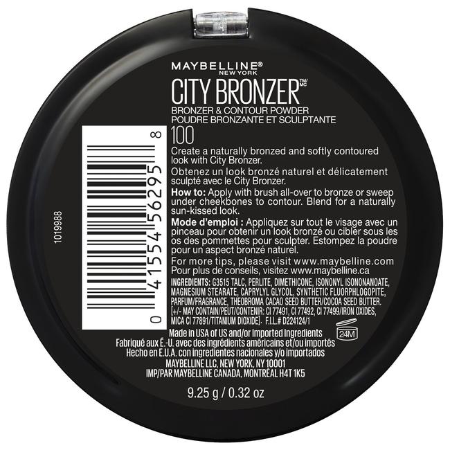 City Bronzer, Bronzer and Contour Powder Light