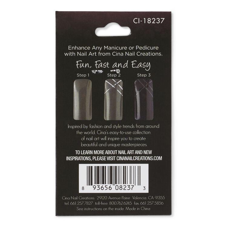 Silver Nail Striping Masking Tape
