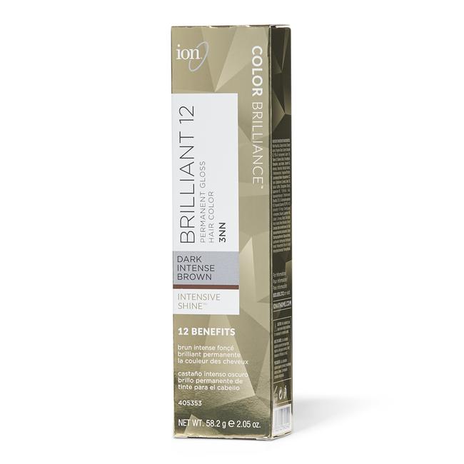 Brilliant 12 Intense Neutrals 3NN Dark Intense Brown Permanent Crème Hair Color