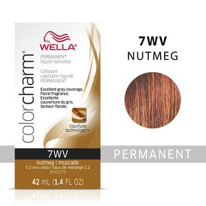 Nutmeg Color Charm Liquid Permanent Hair Color
