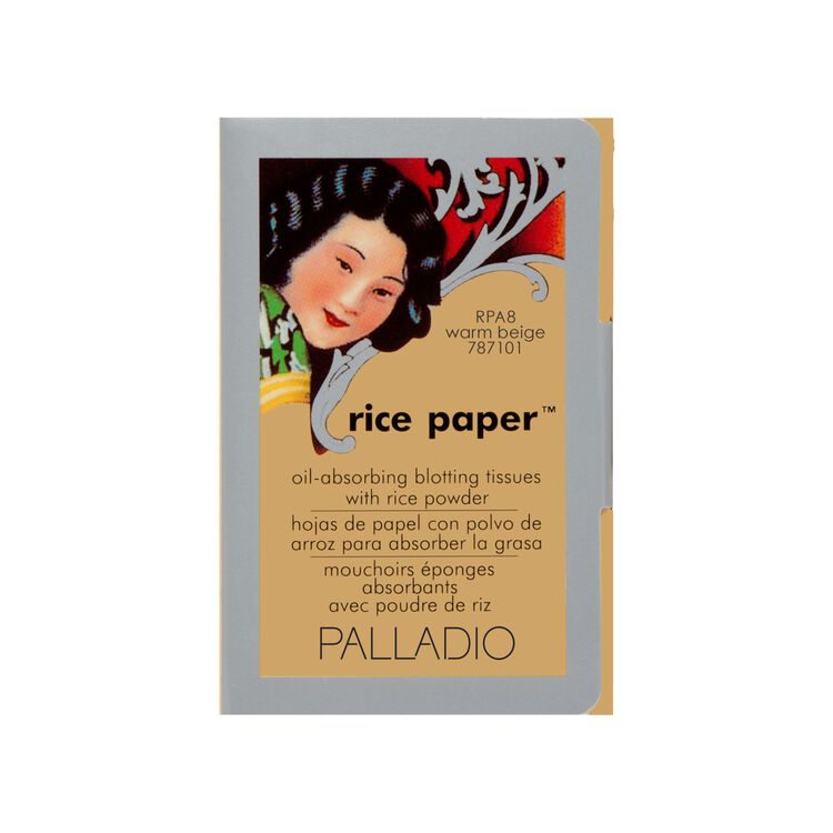 Rice Paper Blotting Tissues Warm Beige