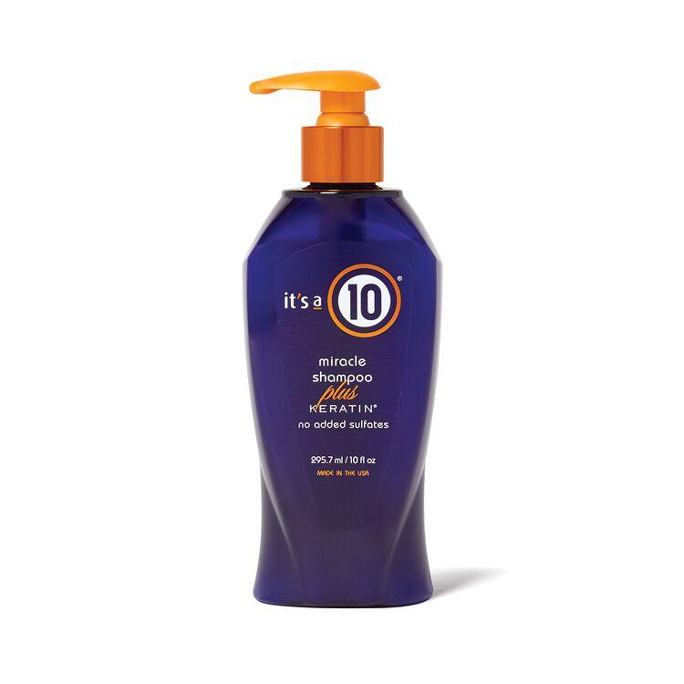 Miracle Shampoo Plus Keratin 10 oz