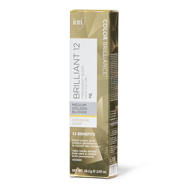 7G Medium Golden Blonde Permanent Gloss Hair Color