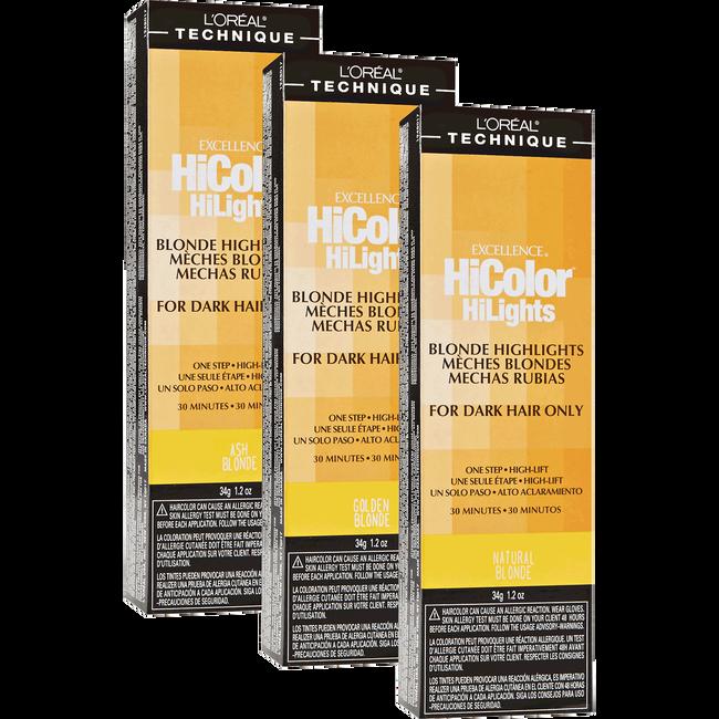 HiColor Blonde HiLights Permanent Creme Hair Color
