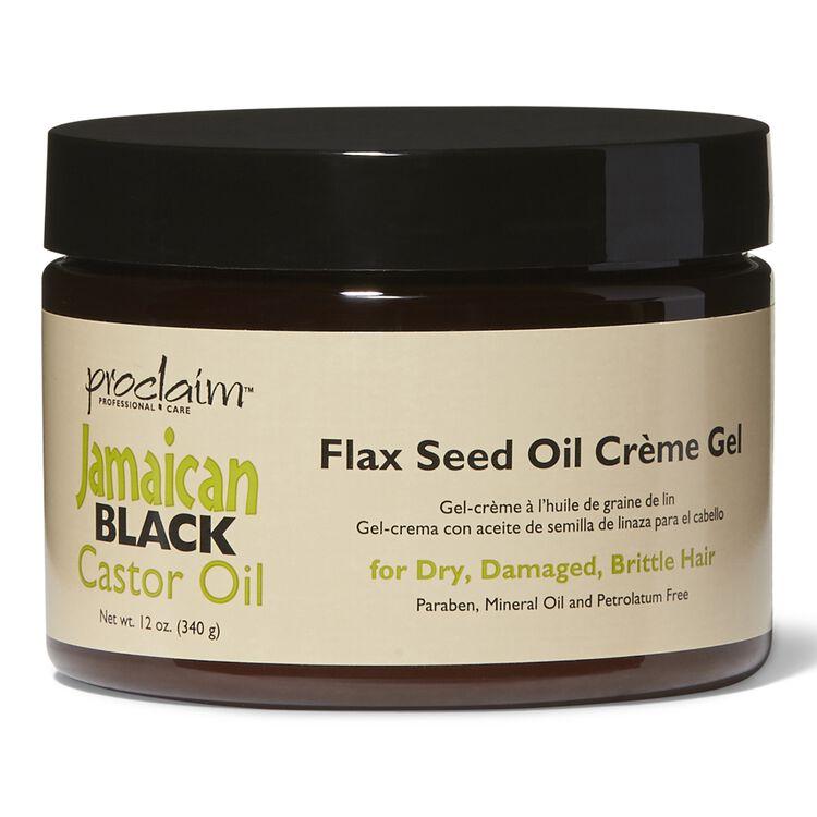 Jamaican Black Castor Oil Flax Seed Creme Gel