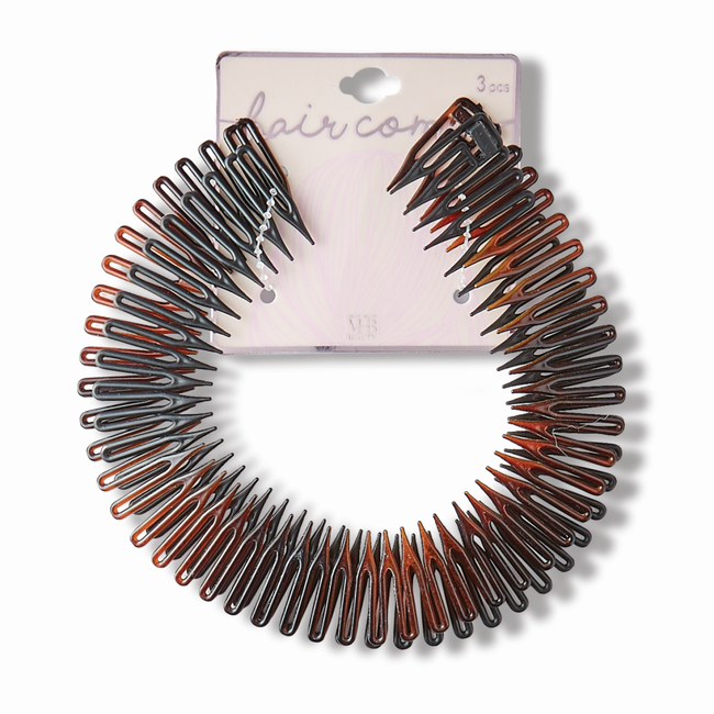 Hair Accordion Comb 3 pack