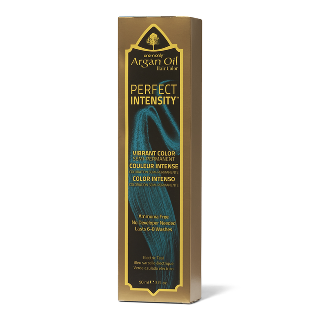 Argan Oil Electric Teal Semi Permanent Hair Color