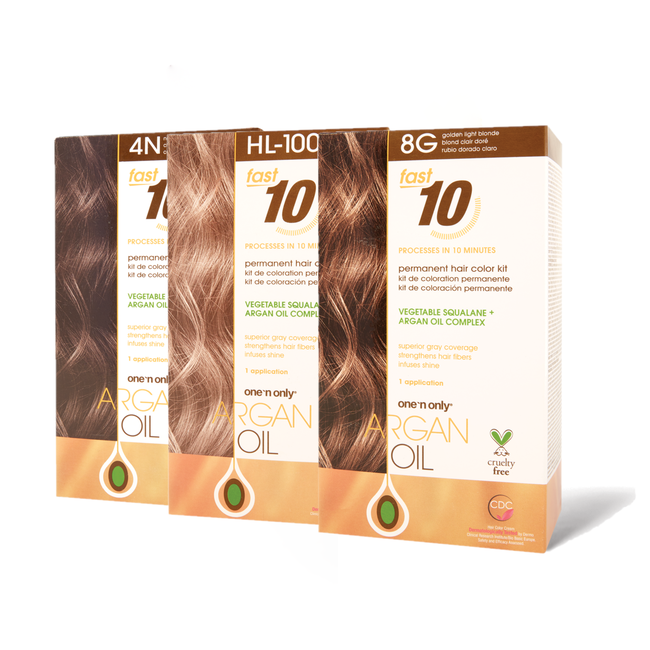 Fast 10 Permanent Hair Color Kit