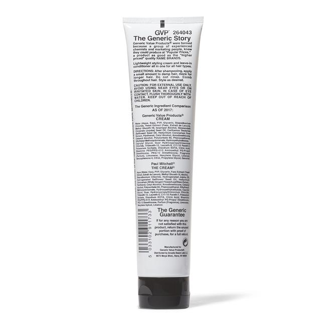 Cream Leave In Conditioner & Styler Compare to Paul Mitchell The Cream