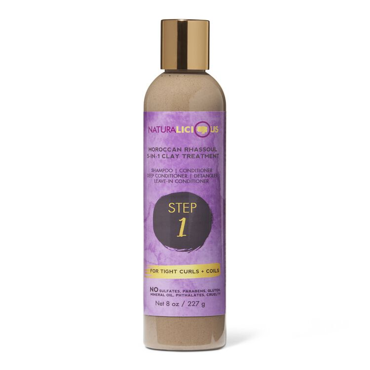 Moroccan Rhassoul 5 in 1 Clay Treatment For Tight Curls & Coils