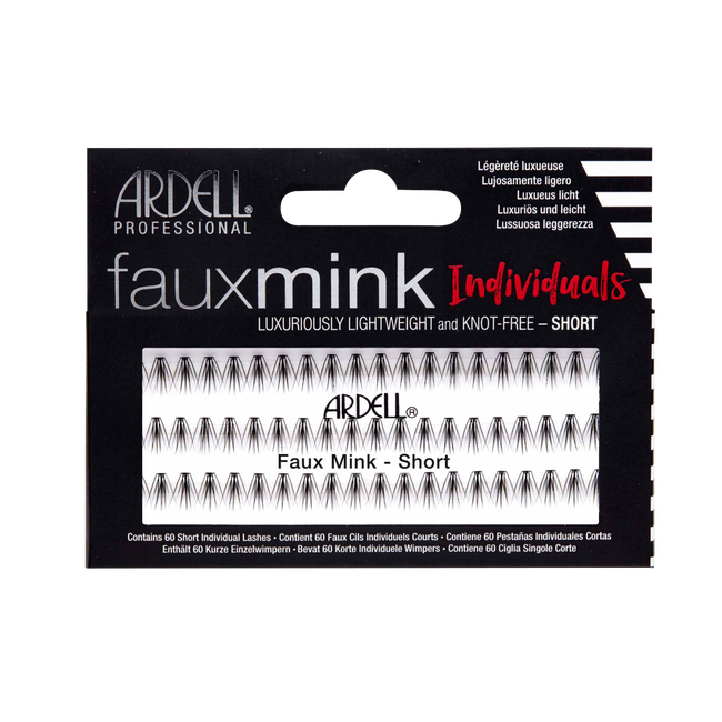 Faux Mink Individuals Short Lashes