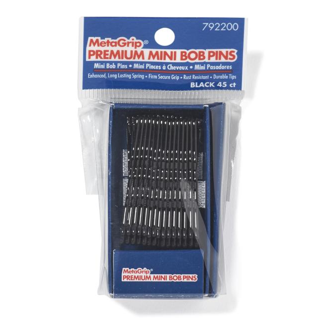 Black Mini Premium Bob Pins