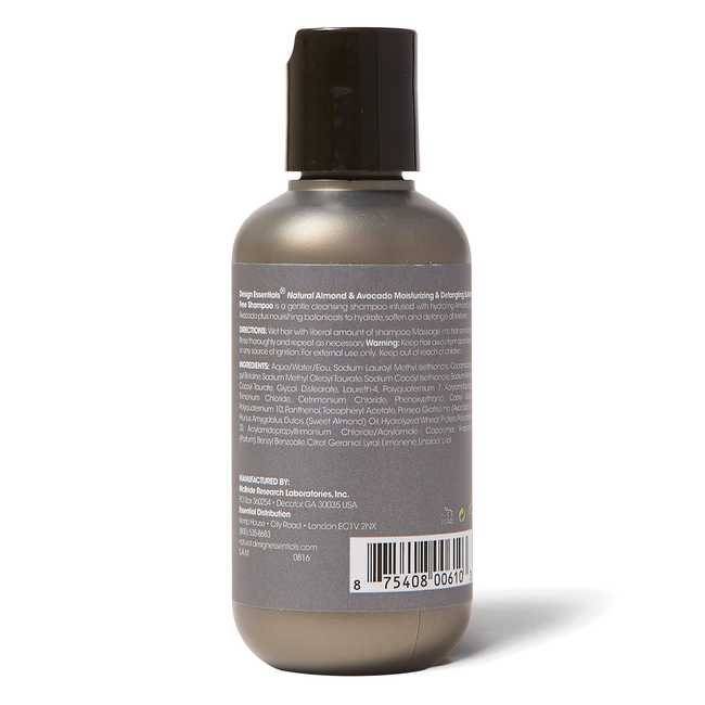 Moisturizing Travel Size Shampoo