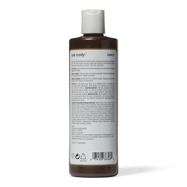 Argan Oil Coconut Shampoo